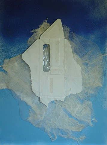 Floating Door with Cloud View