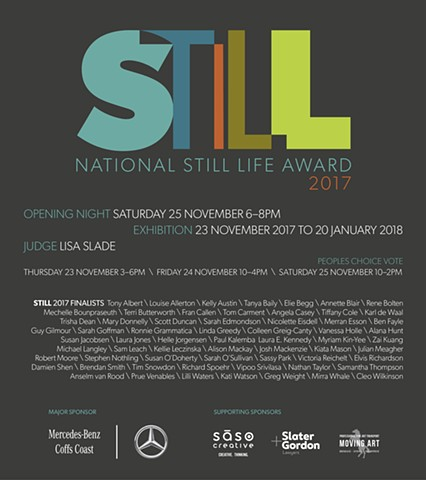 Still: National Still Life Award 2017
