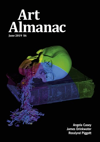 Art Almanac June 2019 : Cover and feature article.