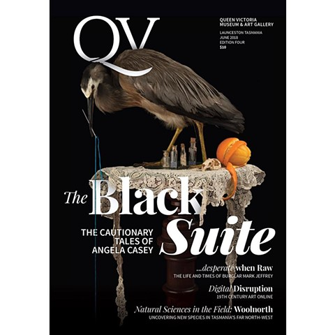 QV Magazine cover and feature article.