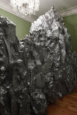 mountain installation bjerg installation by Marianne Grønnow