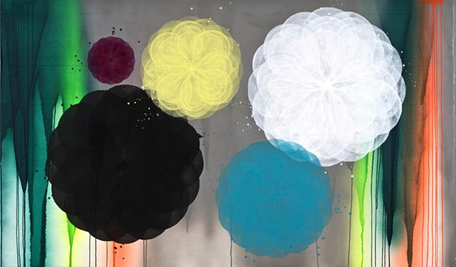 painting by marianne groennow maleri af marianne grønnow