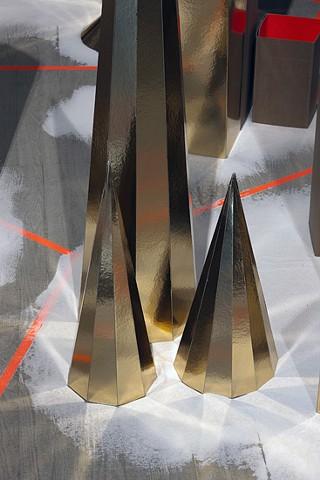 dawn installation daggry papir installation af Marianne Grønnow