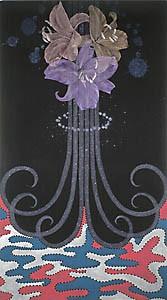 painting flowers maleri blomster Marianne grønnow