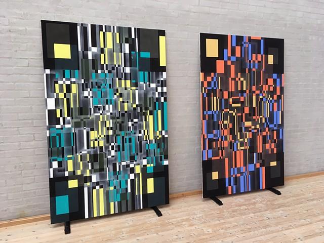 LABORATORIO ETERNO Paintings.