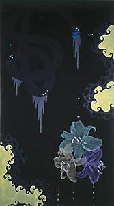 painting maleri blomster Marianne grønnow