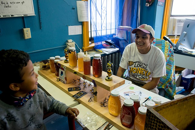Sam Torres of Keystone Colonies Beekeeping