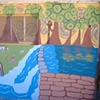Swarthmore Artist Garden- detail