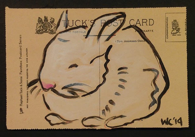 Post card bunny