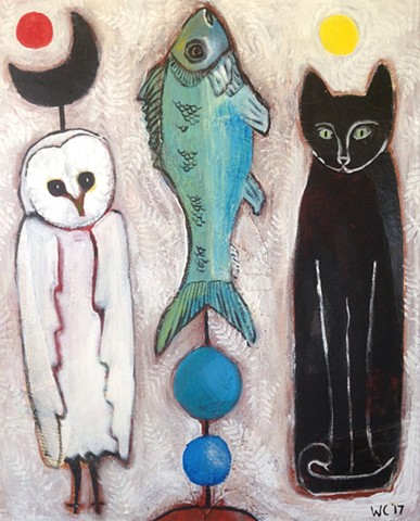 Totems SOLD-PRINTS AVAILABLE