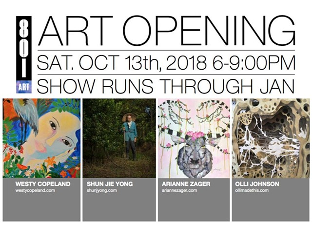 Gallery Show at 801 Washington Ave.