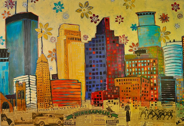 April Showers-Minneapolis (SOLD)