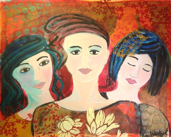 Untitled (goddesses)