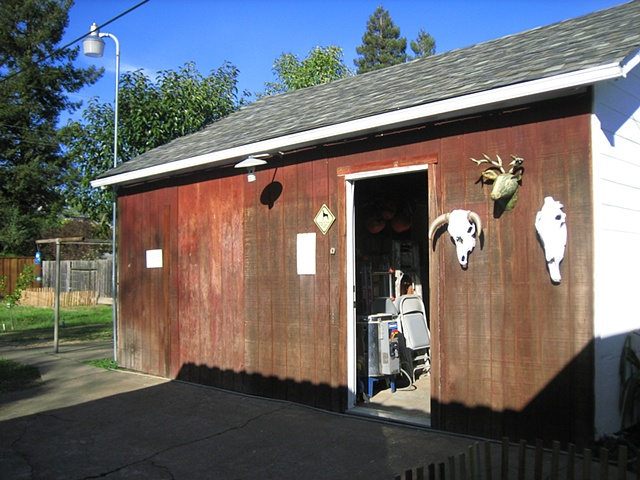 My studio is located in Northern California.
