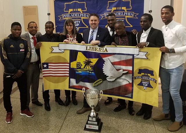 Team Liberia - the Championship Winners!