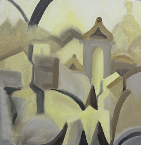 Inspired by a tour of the Jewish cemetery given by a survivor