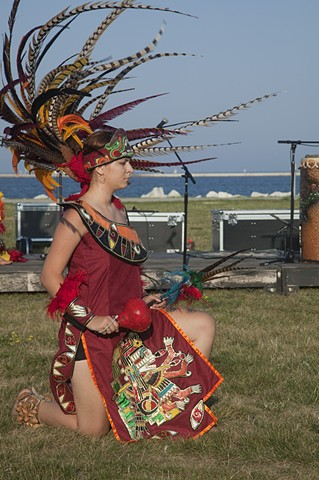 Native dancers from a Festival in Milwaukee