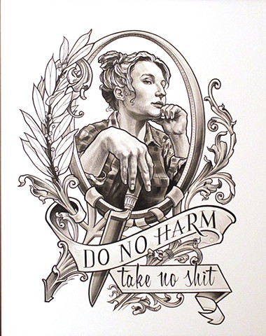 Do No Harm painting