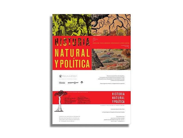 "Head photographer. ""Historia Natural y Política: Conocimiento y Representaciones de la Naturaleza Americana"". Published by the Republican Bank of Colombia and Luis Angel Arango Library. Design by Lucas Ospina."
