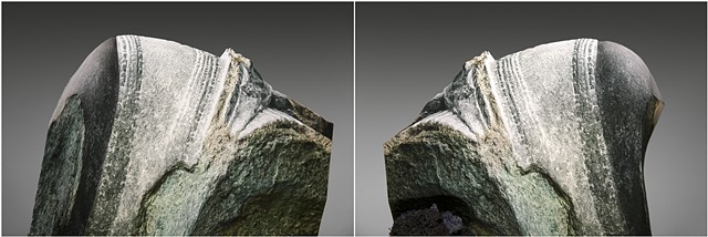 from the series Revival of the Stone (and The Mountains Where They Belonged) // Diptych