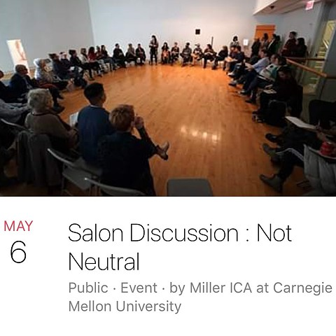 Not Neutral Miller Institute of Contemporary Art at Carnegie Mellon University