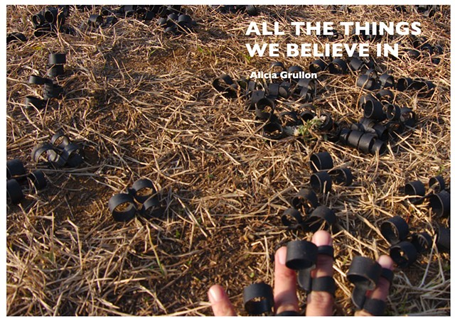 All the Things We Believe In- Artist Book