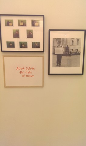 Installation view of photographs for Alicia in three parts at El Museo del Barrio