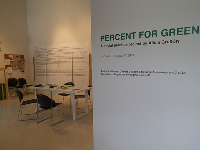 PERCENT FOR GREEN