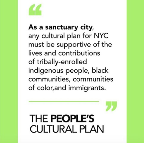 Artists Propose Alternate Cultural Funding Plan for NYC