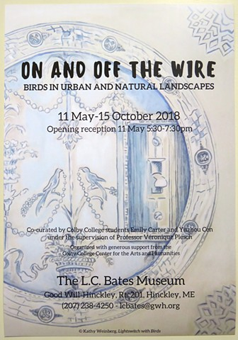 Summer 2018 exhibition at the LC Bates Museum