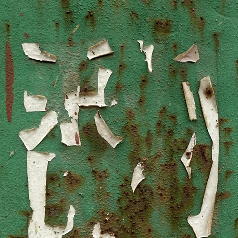 Wall with Peeling Sign - China