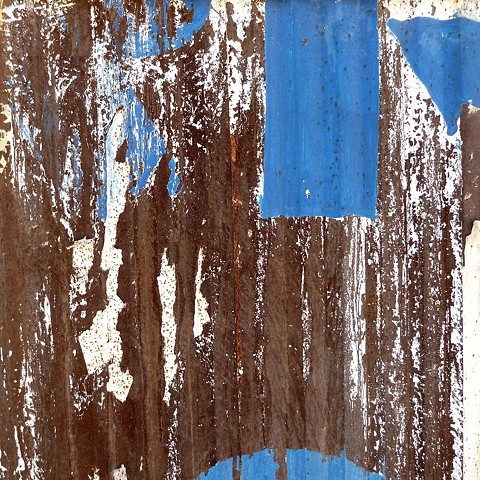 Rusted Corrugated Wall - China