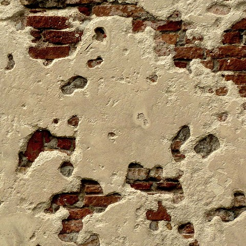 Classic Plaster on Brick Wall - Venice