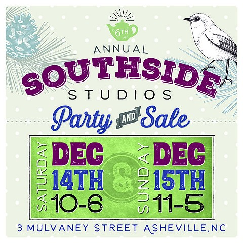 Annual Southside Studios Party & Art Sale (posted 12.11.19)