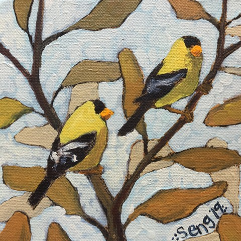 Goldfinches 1 of 2