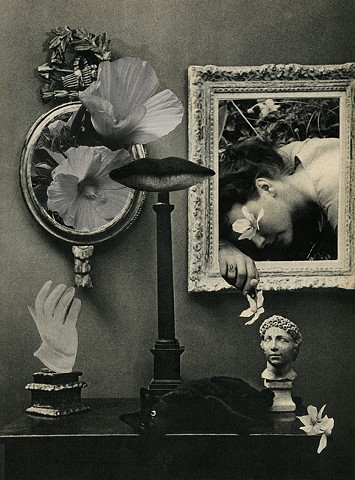 Angelica Paez, collage, photomontage, surreal, cut and paste