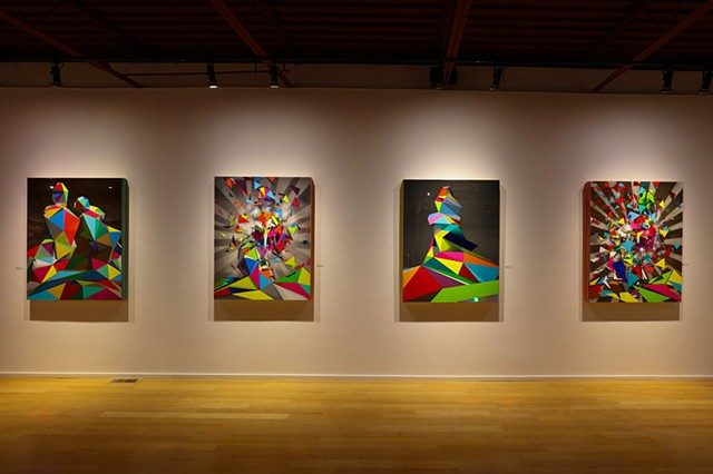Four Solos -Moberg Gallery Des Moines, IA