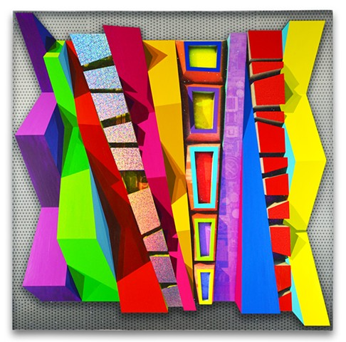 Hardege painting, geometric art, abstract painting
