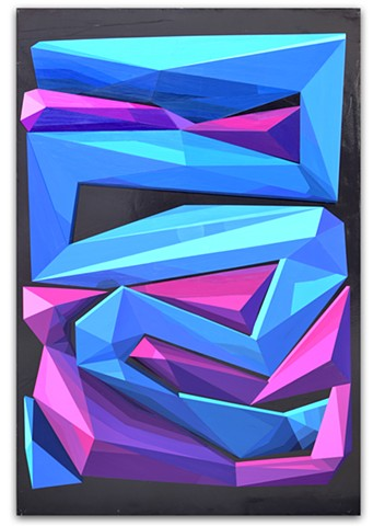 screen saver, geometric art