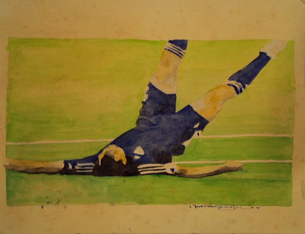 Drawing for Footballer
