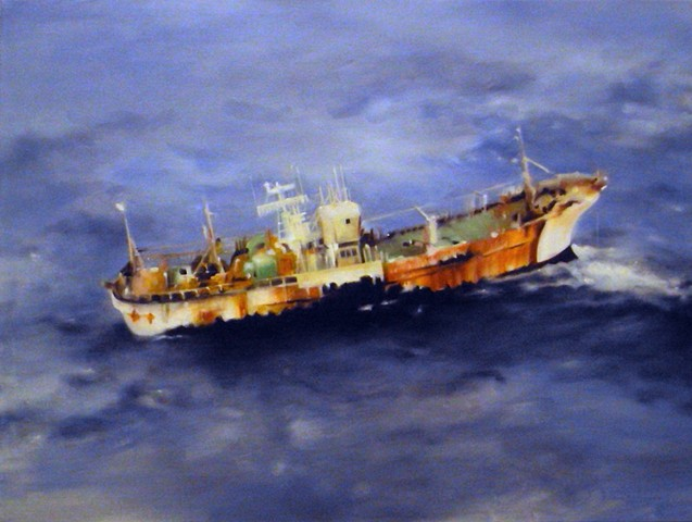 Ben Williamson artist, Ben Williamson painting, Ben Williamson art, Ben Williamson, Painting, Ship From Japan