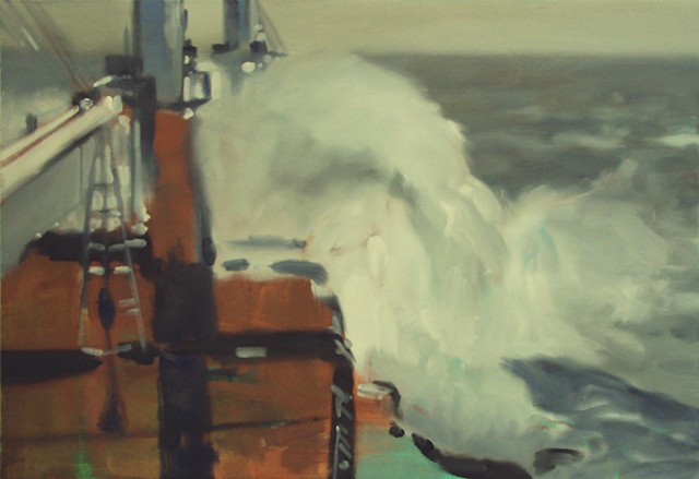 Ben Williamson artist, Ben Williamson painting, Ben Williamson art, Ben Williamson, Painting, Storm