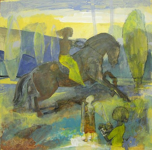 figures, horses, landscapes, children