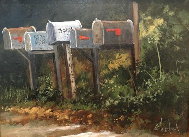 Acrylic on birch panel