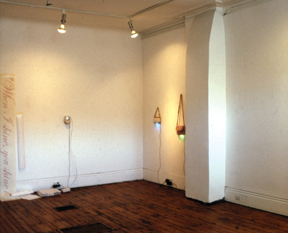 installation view: 'Bite'