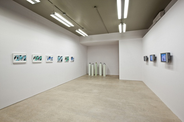 Installation view of Dazzle Shizzle exhibition