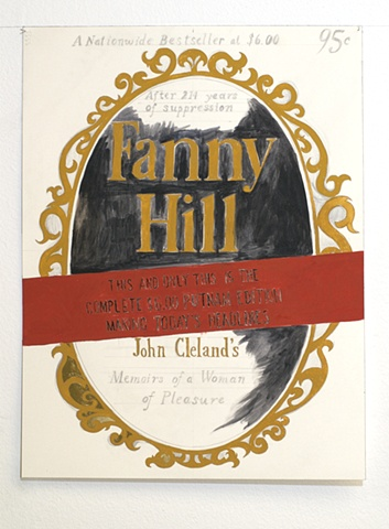 'Fanny Hill Cover', detail from 'Picturesque/Picaresque...'