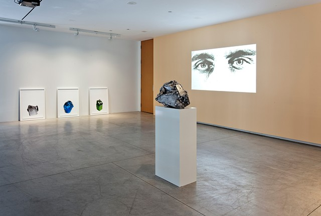 installation view: Shiny. Object. Person.