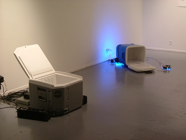 installation view: 'Wouldn't It Be (Ice, Ice)'