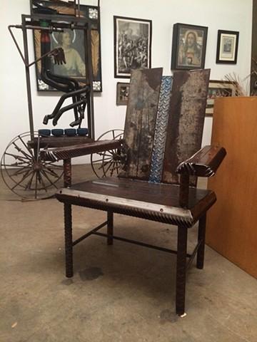 Thomas Prochnow found object furniture